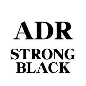 adr strong black